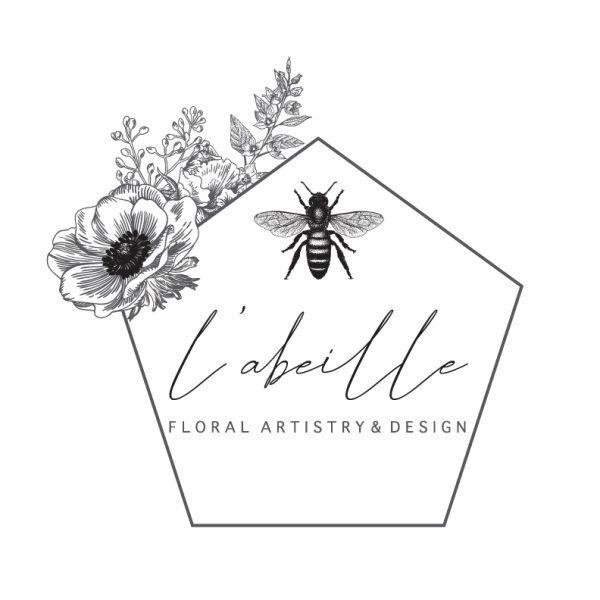 L'abielle Floral Artistry & Design Logo