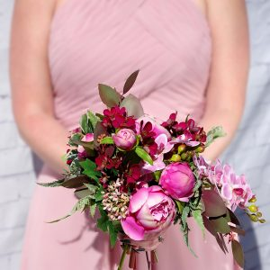 Kingston Florist: Bride Holding A Bouquet