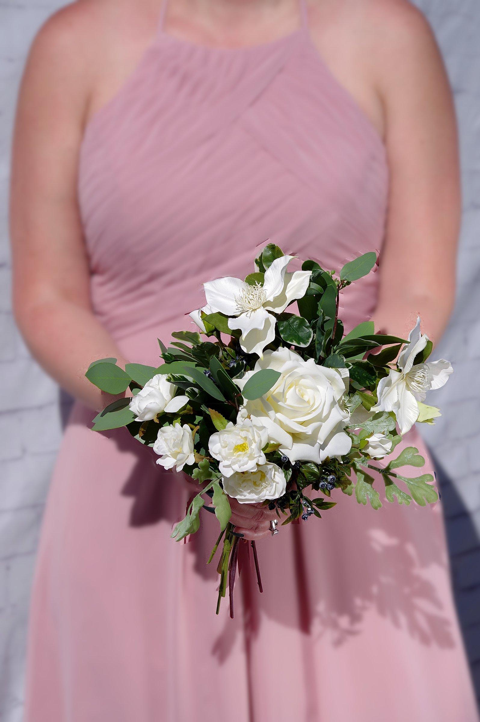 Kingston Florist: Bride Holding A Bouquet