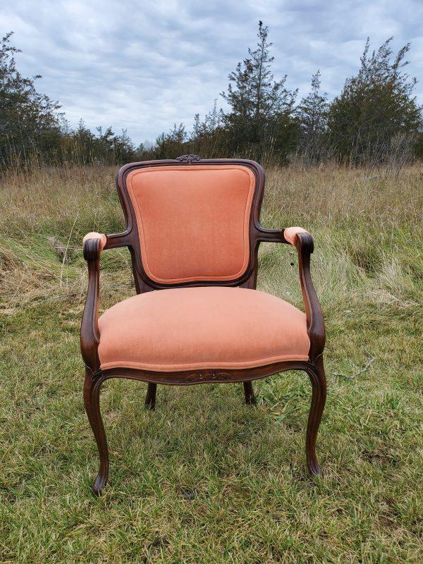 Boho peach chair scaled