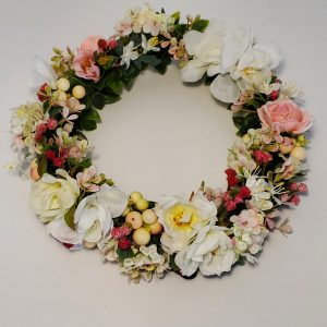 Child's Head Wreath