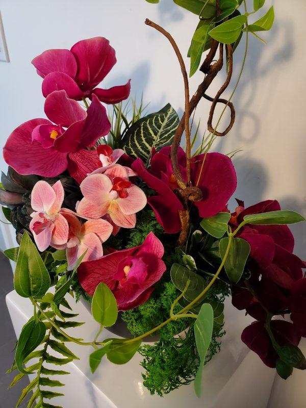 Orchid arrangement1 scaled