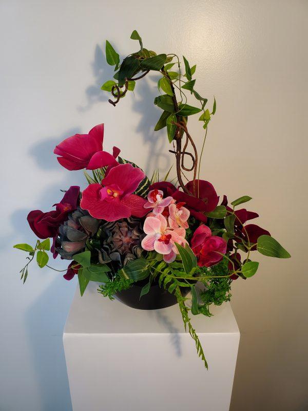 Orchid arrangement2 scaled