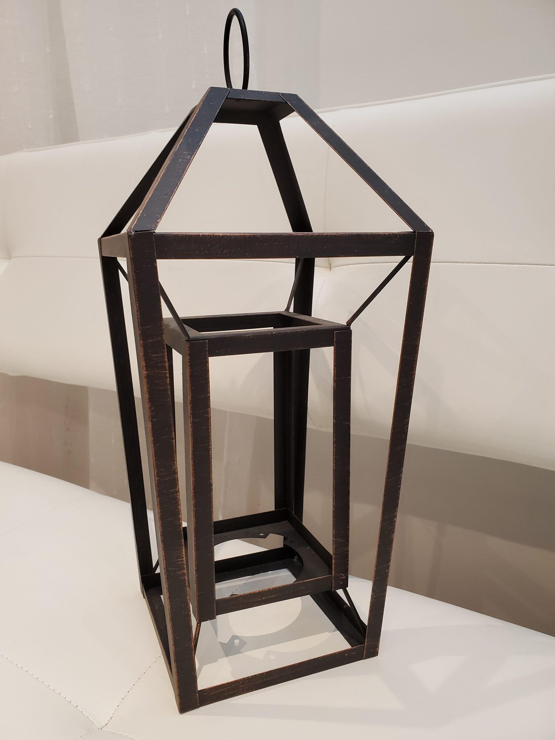 Rustic lantern 1
